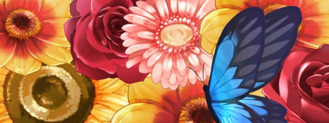 お花畑さんの壁紙画像